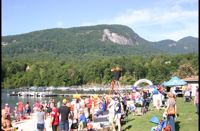 The Lake Lure Olympiad is summer fun for the entire family